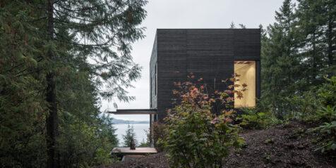 Little House, una cabaña contemporánea permeada por la naturaleza
